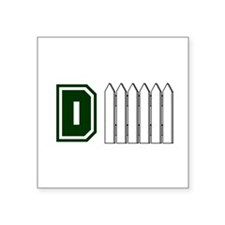 """DFENCE1.png Square Sticker 3"""" x 3"""""""
