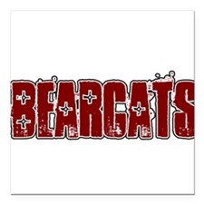 "BEARCATS_16.png Square Car Magnet 3"" x 3"""