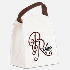 PRCHEER3.png Canvas Lunch Bag