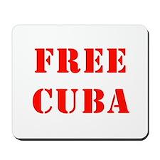 Free Cuba Mousepad