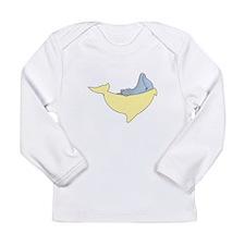 Newborn Dolphin Long Sleeve Infant T-Shirt