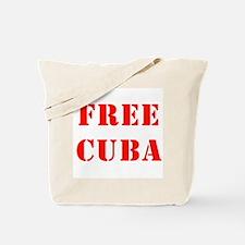 Free Cuba Tote Bag