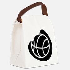 j0325764_BLACK.png Canvas Lunch Bag