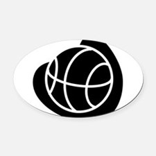 j0325764_BLACK.png Oval Car Magnet