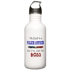 DadIsAPoliceOfficer Water Bottle