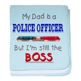 My dad is a police officer Blanket