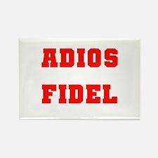 ADIOS FIDEL CASTRO OF CUBA Rectangle Magnet