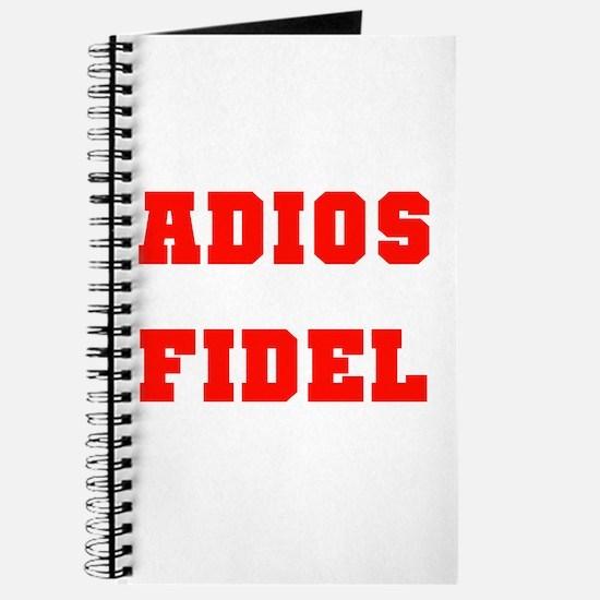 ADIOS FIDEL CASTRO OF CUBA Journal