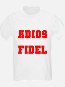 ADIOS FIDEL CASTRO OF CUBA Kids T-Shirt