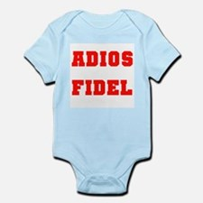 ADIOS FIDEL CASTRO OF CUBA Infant Creeper