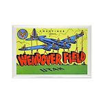 Wendover Field Utah Rectangle Magnet