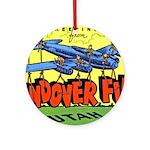 Wendover Field Utah Ornament (Round)