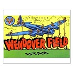 Wendover Field Utah Small Poster