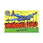 Wendover Field Utah Mini Poster Print