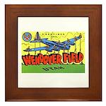 Wendover Field Utah Framed Tile