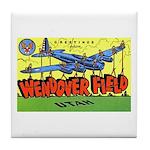 Wendover Field Utah Tile Coaster
