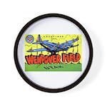 Wendover Field Utah Wall Clock