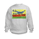 Wendover Field Utah (Front) Kids Sweatshirt
