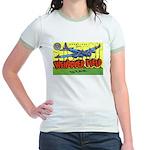 Wendover Field Utah (Front) Jr. Ringer T-Shirt