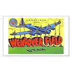 Wendover Field Utah Rectangle Sticker