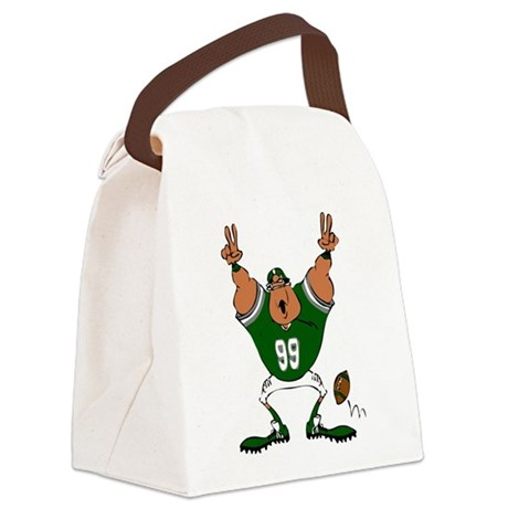 32213975GREEN.png Canvas Lunch Bag