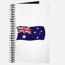 Waving Australian Flag Journal