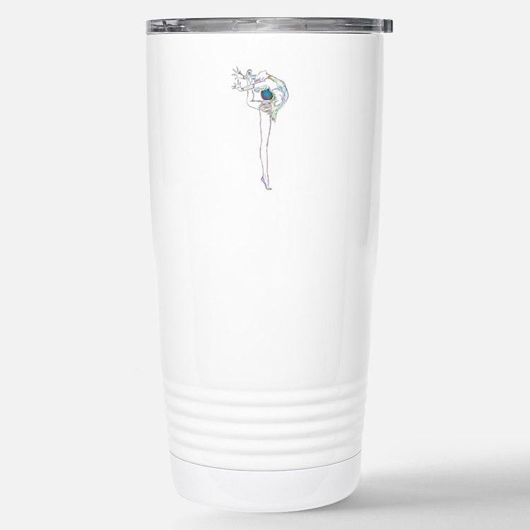 Color Rhythmic Ball Travel Mug