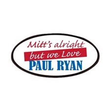 Mitts Alright Love Paul Ryan Patches