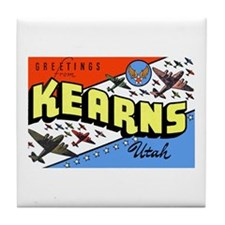 Camp Kearns Utah Tile Coaster