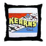 Camp Kearns Utah Throw Pillow