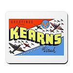 Camp Kearns Utah Mousepad