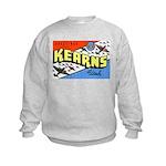 Camp Kearns Utah (Front) Kids Sweatshirt