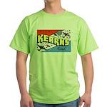 Camp Kearns Utah Green T-Shirt