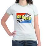 Camp Kearns Utah (Front) Jr. Ringer T-Shirt