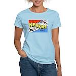 Camp Kearns Utah (Front) Women's Pink T-Shirt