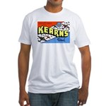 Camp Kearns Utah (Front) Fitted T-Shirt