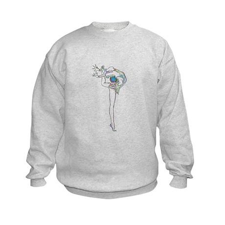 Color Rhythmic Ball Kids Sweatshirt
