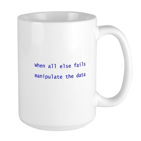 When all else fails Large Mug