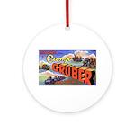 Camp Gruber Oklahoma Ornament (Round)