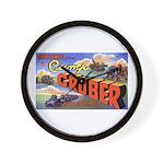 Camp Gruber Oklahoma Wall Clock
