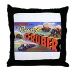 Camp Gruber Oklahoma Throw Pillow