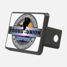 Proud to be Union Hitch Cover