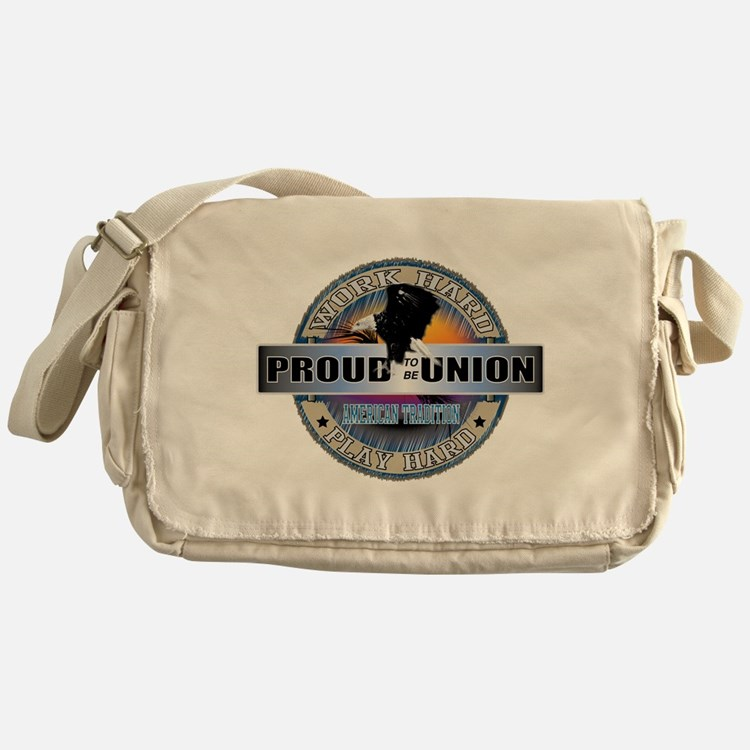 Proud to be Union Messenger Bag