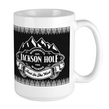 Jackson Hole Mountain Emblem Mug