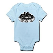 Jackson Hole Mountain Emblem Infant Bodysuit