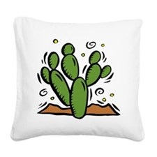 CACTUS2010.jpg Square Canvas Pillow