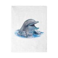 Happy Dolphin Twin Duvet