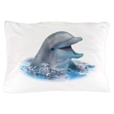 Happy Dolphin Pillow Case