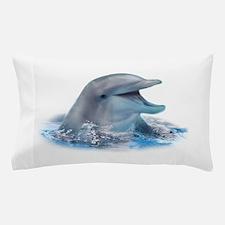 Happy Dolphin Pillow Case