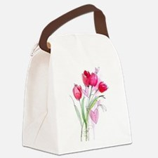Tulip2a.jpg Canvas Lunch Bag
